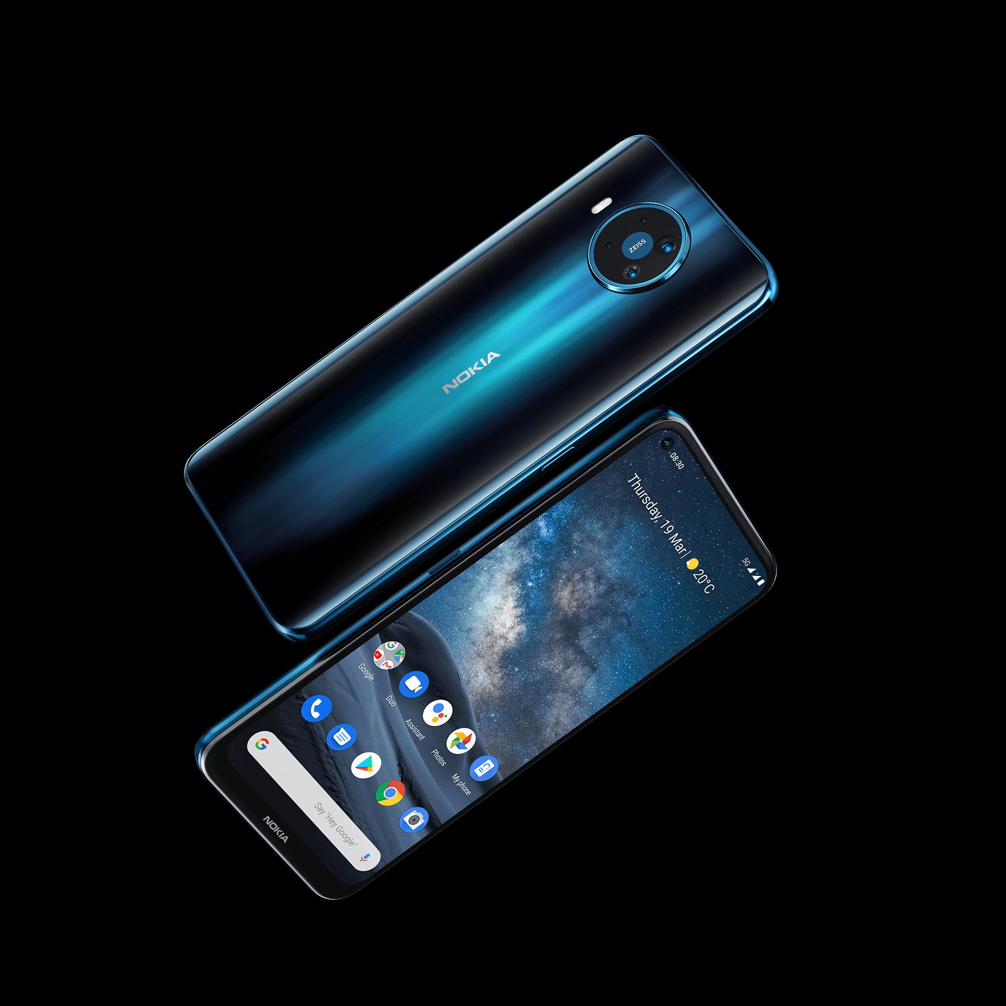 Nokia 8.3 5G vorne und hinten