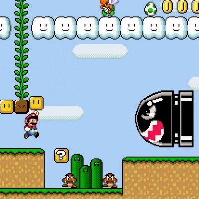 Screenshot aus Super Mario World / Image by Nintendo via IGBD.com