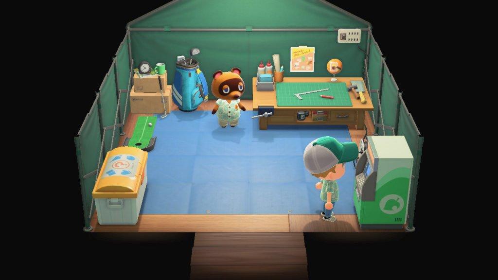 Animal Crossing: New Horizons Tipps und Tricks - Das NookPortal / Screenshot aus Animal Crossing von Nintendo erstellt von Moritz Stoll