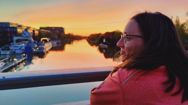 OnePlus 8 Pro Sonnenuntergang