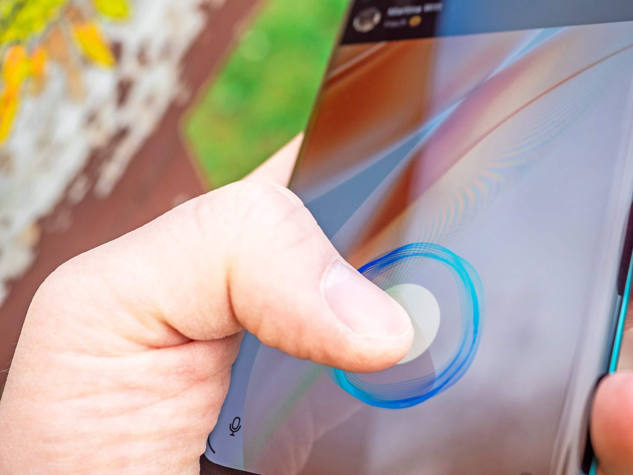 OnePlus 8 Pro Fingerabdrucksensor