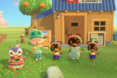 Titelbild Screenshot aus Animal Crossing gemacht von Moritz Stoll