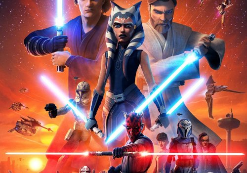 Keyart von Star Wars: The Clone Wars - Staffel 7