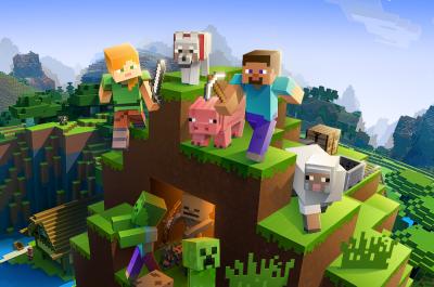 Minecraft gemeinsam Spielen Titelbild / Bild von Mojang / Microsoft via IGDB.com