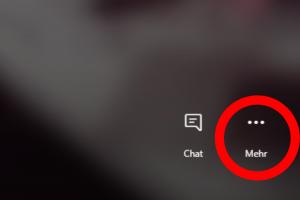 Skype Hintergrund weichzeichnen Auswahl im Call / Screenshot aus Skype erstellt von Moritz Stoll