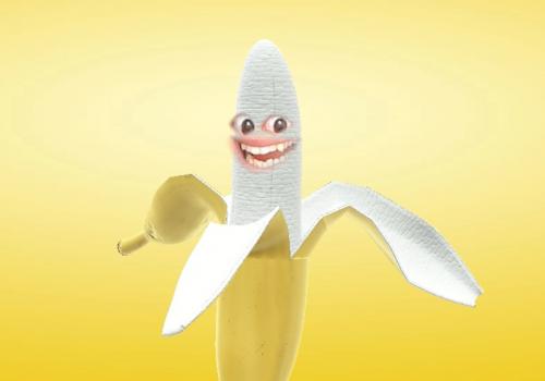 Video-Call aufpeppen Beispiel mit einer Banane als Facefilter als Titelbild