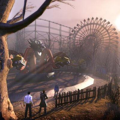 Ein verlassener Vergnügungspark in Secret World