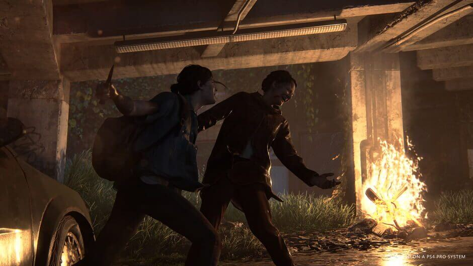 Kampf in The Last of Us 2