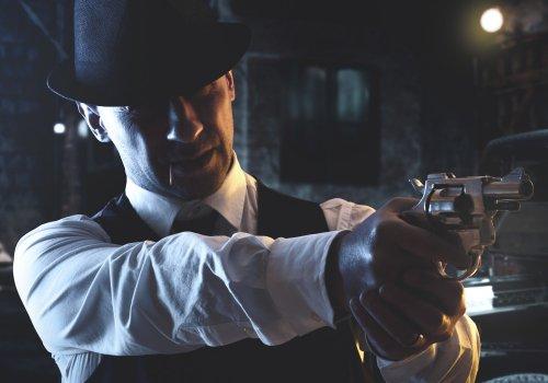 Ein Mafiosi in den 30ern