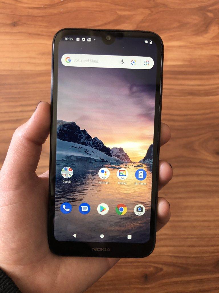Nokia 1.3 Test