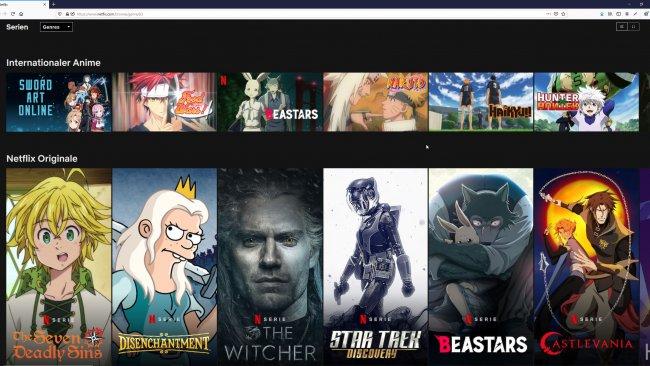 Netflix auf dem PC