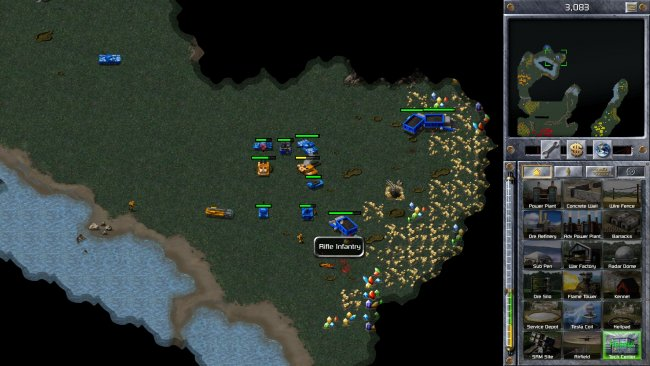 Command & Conquer: Alarmstufe Rot mit neuer Grafik