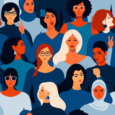 Feminismus Titelbil von Angelina Bambina via Adobe Stock