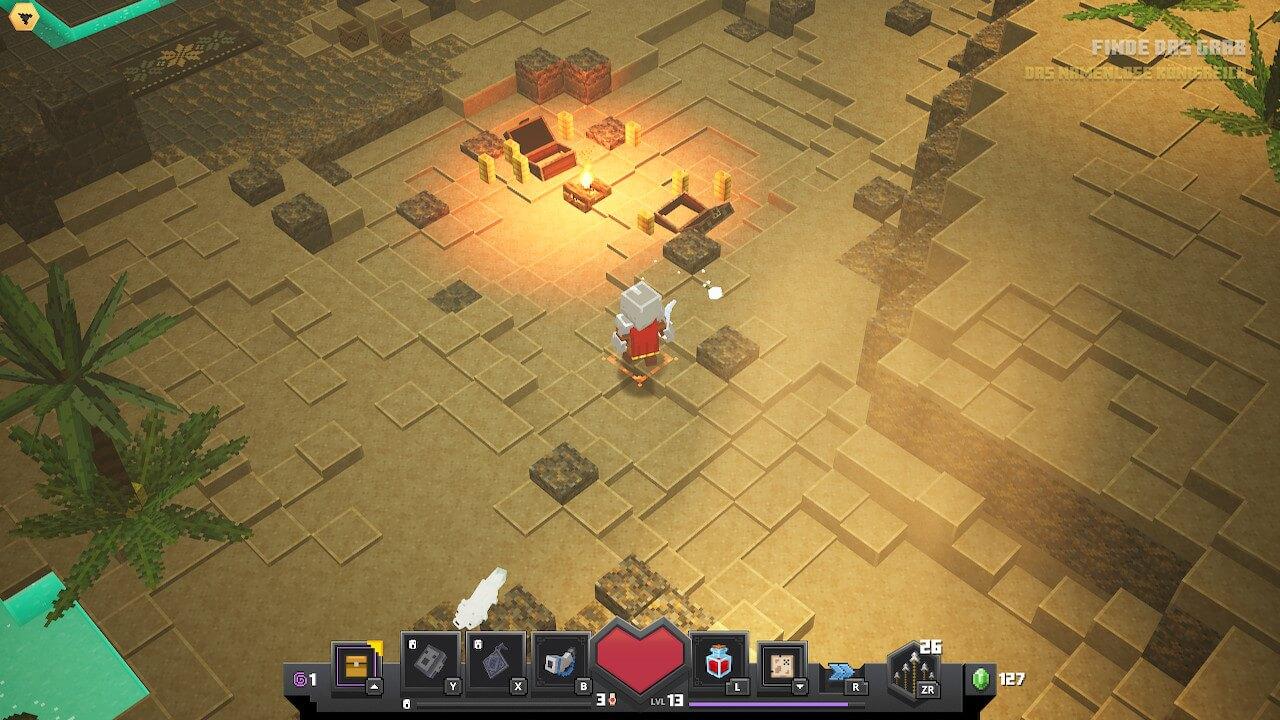 Screenshot aus dem Minecraft Dungeons Test / Screenshot aus Minecraft Dungeons erstellt von Moritz Stoll