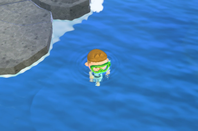 Animal Crossing Schwimmen und Tauchen Titelbild