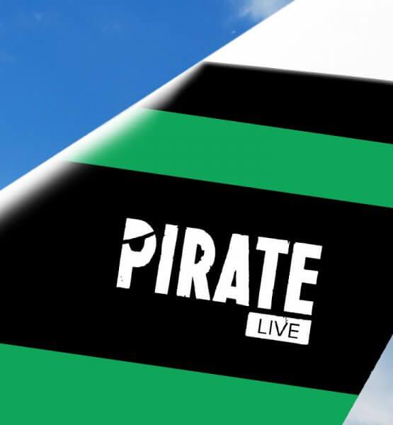 Logo der Pirate Live