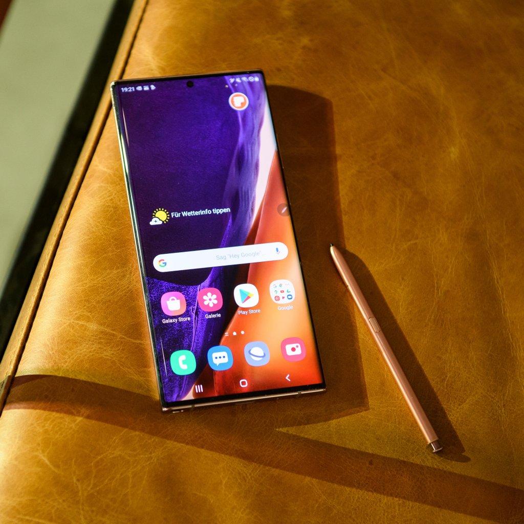 Samsung Galaxy Note 20 Ultra mit besserem S-Pen, 8K und xCloud