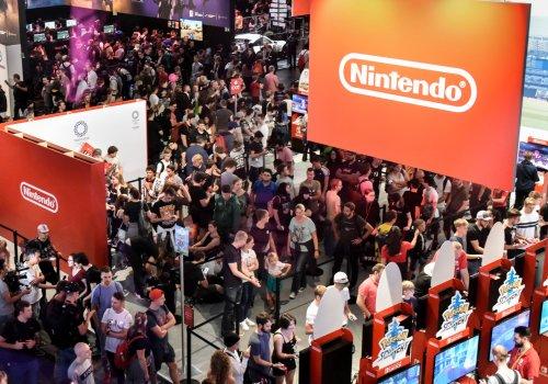 Nintendo-Stand auf der Gamescom 2019.