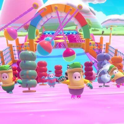 Screenshot aus Fall Guys / Bild von Devolver Digital und Mediatonic