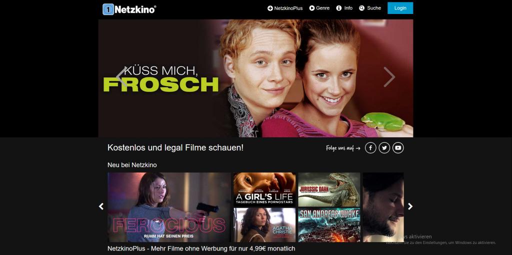 Als alternative Streaming Plattform hat Netzkino so einiges zu bieten.