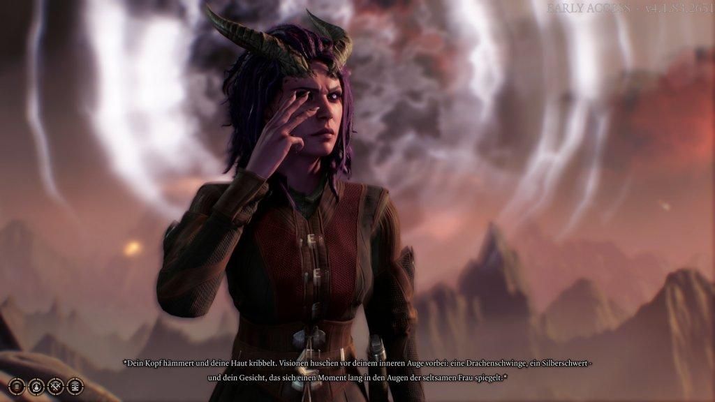 Anfangsszene in Baldur's Gate 3