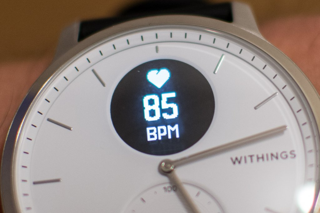 Withings Scanwatch Display