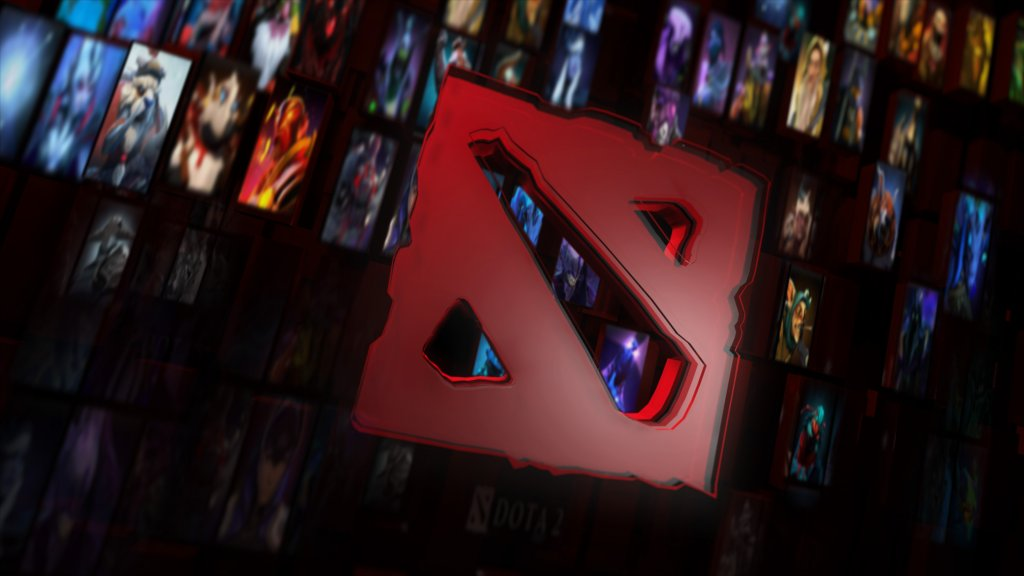 Das Bild zeigt das Logo von Dota, eine der besten Spiele Mods-aller Zeiten