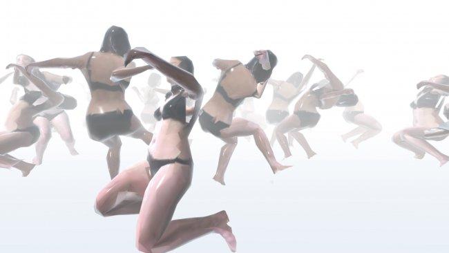 Das Bild zeigt einen selbst erstellten virtuellen Raum von Martina Menegon