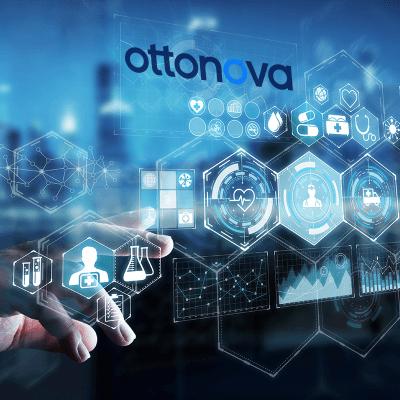 Das Bild zeigt das Logo von ottonova eine digitale Krankenversicherung