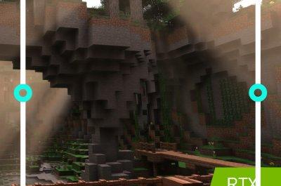 Minecraft mit RTX on