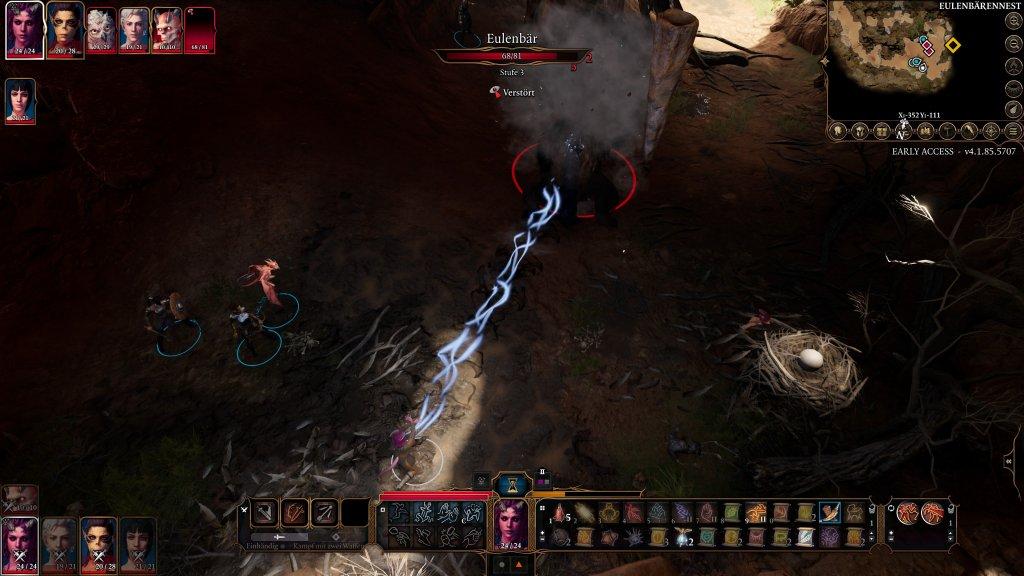 Kampf in Baldur's Gate 3