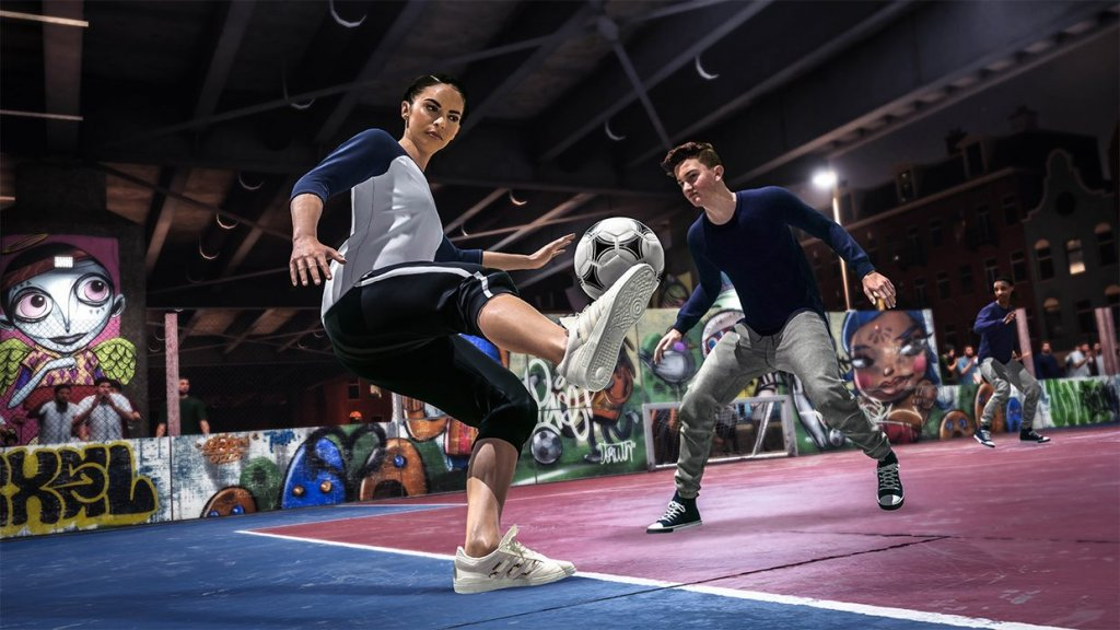 Mit Volta bietet FIFA 2020 erstmals Street Soccer.