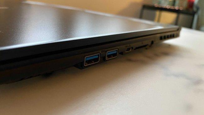 Aero 15 OLD USB 3.0 Anschlüsse