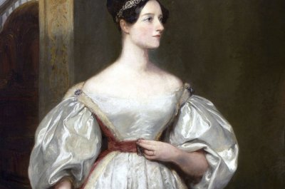 Ada Lovelace 1836, Gemälde von Margaret Sarah Carpenter
