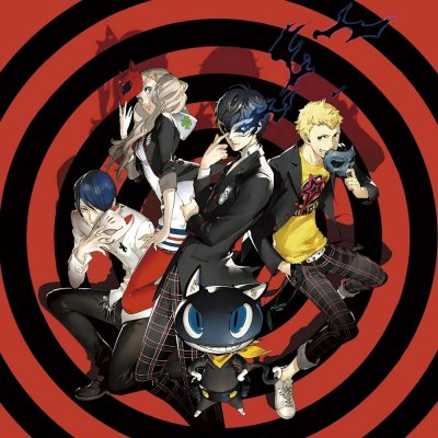 Artwork von Persona 5 als Beispiel für die besten JRPGs