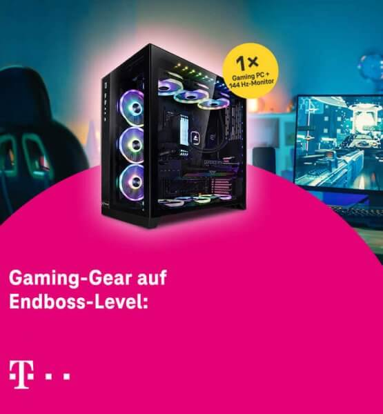 Gaming PC-Gewinnspiel der Telekom