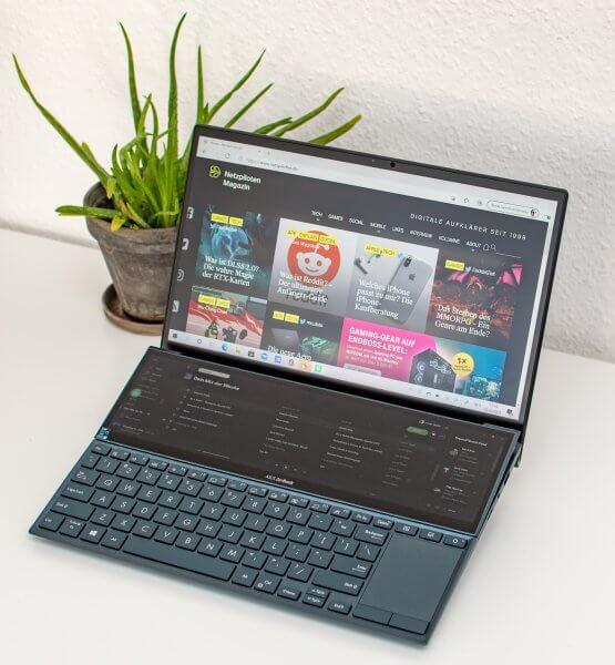 Asus ZenBook Duo 14 Teaser
