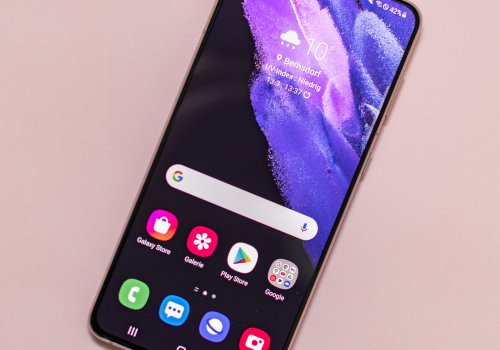 Samsung Galaxy S21 Plus 5G Front