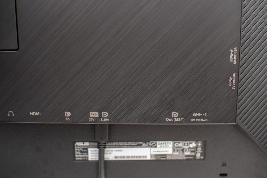 Anschlussmöglichkeiten besitzt der Asus ProArt PA278QV genug.