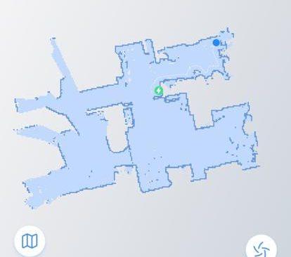 Screenshot der erstellen Karte aus der WeBack-App
