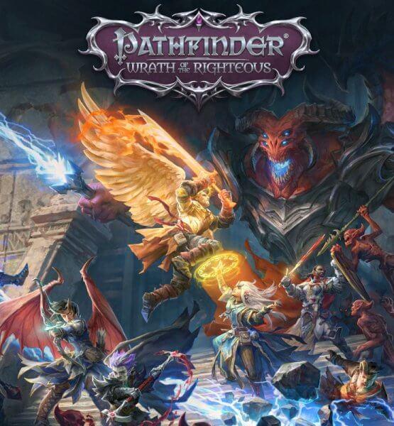 Keyart des Spiels Pathfinder: Wrath of the Righteous