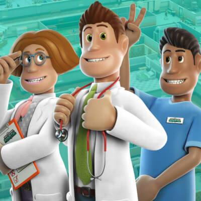 Coverart von Two Point Hospital