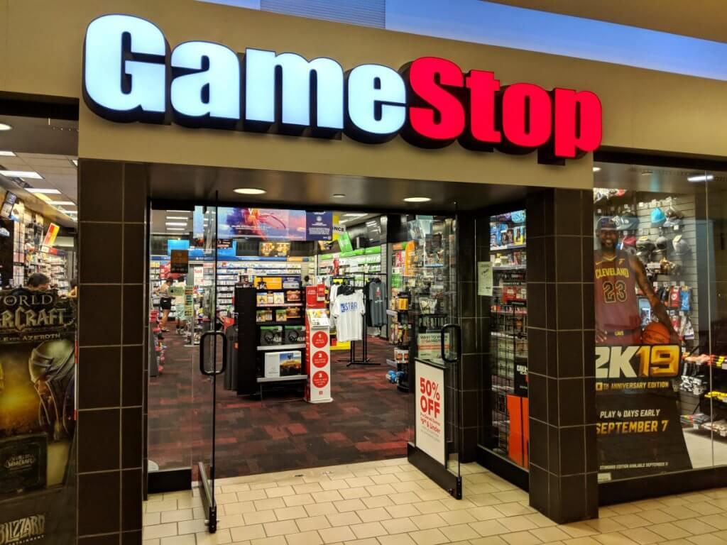 wallstreetbets, Gamestop store