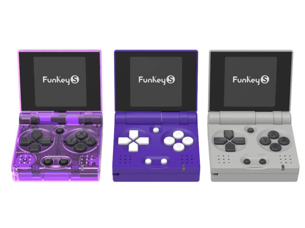 Der Funkey S in 3 verschiedenen Farben