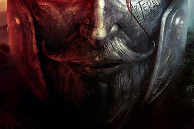 Boxart zum Spiel in Form von einer eisernen Maske aus dessen linkem Auge Feuer brennt.